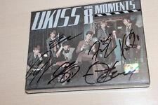 UKISS - Moments Autographed 8th Mini Album CD K-POP + 2 photos