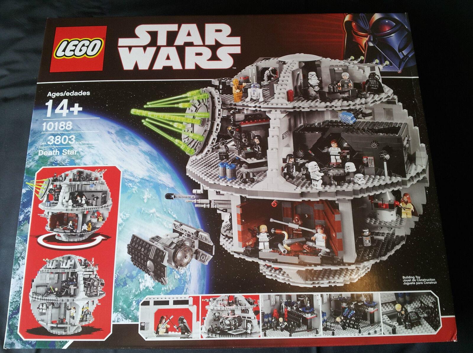 LEGO STAR WARS 10188 - DEATH STAR NEU VERSIEGELT   NEU SEALED