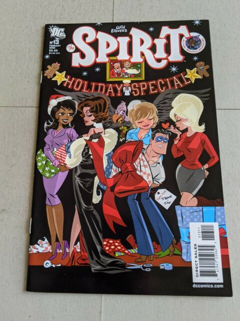 The Spirit Holiday Special #13 February 2008 DC Comics