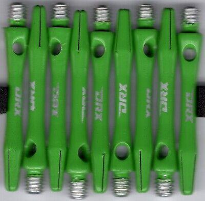 3 per set 2ba Black-Green Aluminum Dart Shafts 1.5in