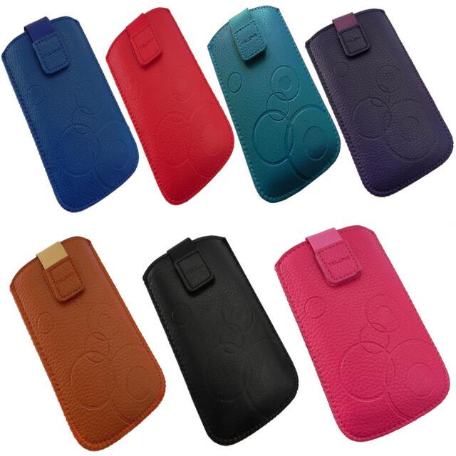 Slim Case für BlackBerry Handy Tasche Schutz Hülle Tasche Cover Kunstleder Etui