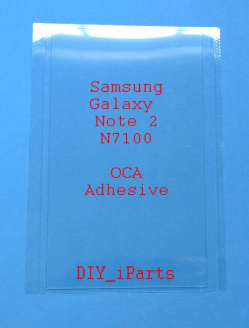 OCA Optical Clear Adhesive Tape for Samsung Galaxy Note 2 N7100 LCD Screen USA