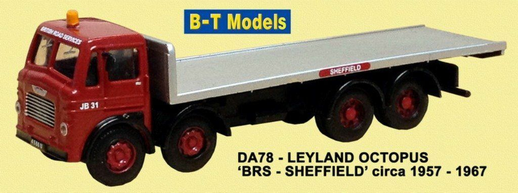 Leyland Octopus - BRS-Sheffield Suitable 1 76 Oxford,