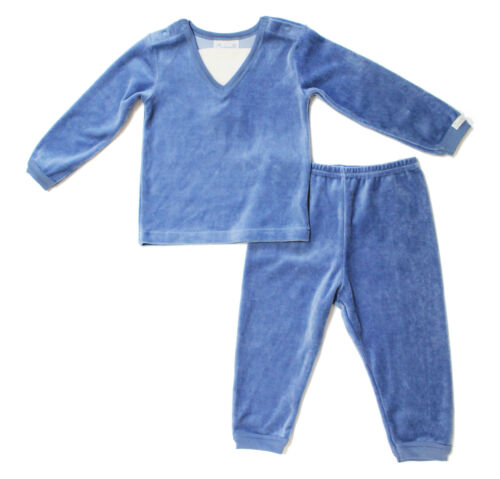 NWT Coccoli Baby Boy Newborn Velour Top and Pant Set ~ Size 6M 9M 12M 18M 24M