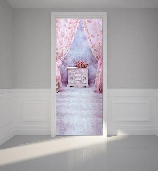 3D 3D 3D Vorhänge Tür Wandmalerei Wandaufkleber Aufkleber AJ WALLPAPER DE Kyra d35b94