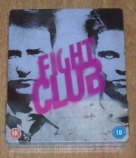 "Fight Club (blu-ray) Metalpack ""like Steelbook"". NEW & SEALED (UK release)."