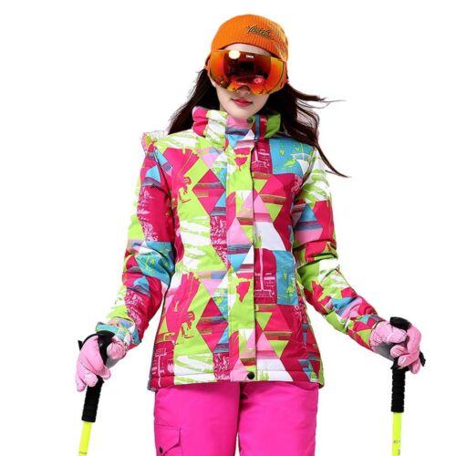 Women Winter Jacket Ski Snow Sport Coat Hiking Climbing Outdoor Waterproof MA