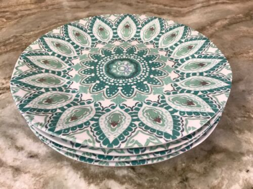 Set Of 4 Your Choice New. Tahari Home Melanine Dinner Or Salad Plates