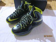 best service e328a 225b7 item 1 Mens Nike Lebron X 10 QS Size 12 Seaweed Atomic Green Dunkman James  541100-300 -Mens Nike Lebron X 10 QS Size 12 Seaweed Atomic Green Dunkman  James ...