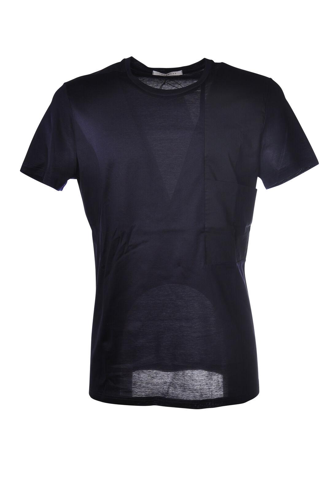 Niedrig Brand - Topwear-T-shirts - Man - Blau - 5252708E183705