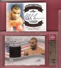 MIKE TYSON TRAINING WORN BOXING TRUNKS BGS GEM MINT 9.5 & Autograph card AUTO