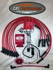 small cap BUICK Big Block 400 430 455 RED HEI DISTRIBUTOR + 8MM PLUG WIRES - USA