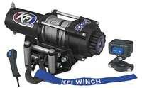 Kfi 3000 Lb Winch & Mount 2008-2016 Suzuki Lt-a750x Kingquad 4x4 Atv