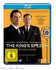 THE KING'S SPEECH (Colin Firth, Geoffrey Rush) Blu-ray Disc NEU+OVP