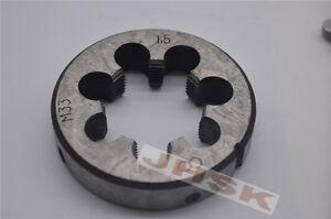 1pcs Metric Right Hand Die M33X1.5 Dies Threading Tools 33X1.5mm Fine tooth M33