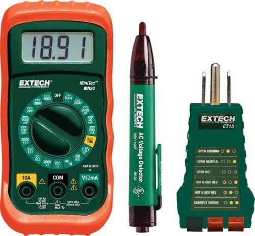 Extech MN24-KIT Electrical Test Kit