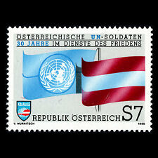 Austria 1990 - Austrian U.N. Soldiers for the Cause of Peace - Sc 1517 MNH