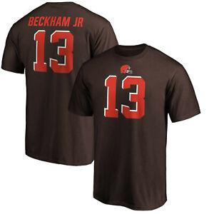 Odell Beckham Jr. Cleveland Browns #13 Fanatics NFL T Shirt Brown