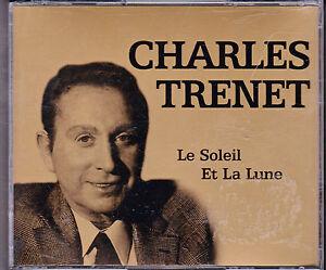 DOUBLE-CD-40T-DANS-GROS-BOITIER-CHARLES-TRENET-LE-SOLEIL-ET-LA-LUNE-BEST-OF-2004
