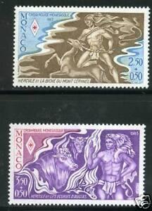 MONACO-TIMBRES-1387-1388-NEUF-XX-LUXE