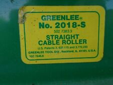 Greenlee No 2018 2 Cable Roller