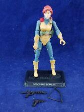 GI Joe Cobra 25th Anniversary Figure 2007 Agent Scarlett 100% complete