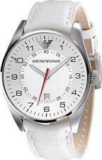 Emporio Armani White/Silver Quartz Analog Men's Watch AR5862
