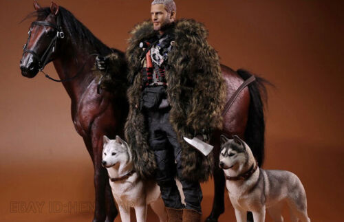1:6 Scale Mr.Z Animal Simulation Toys Hanoveria Horse Resin Figure 5 Color Model