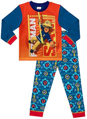 Fireman Sam Pyjama 1 To 5 ans Fireman Sam Pyjama Long Pyjama Pyjamas W18 | eBay