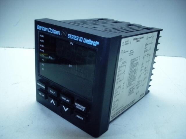 Barber-Colman 10Q8-0KF00-05F-5-00 Temperature Controller 10Q80KF0005F500