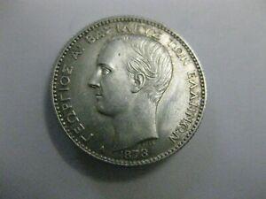 Greece 1 Drachma 1873.