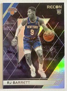 2019-20 Recon RJ Barrett Silver Rookie Refractor Base RC #290 NY Knicks Duke