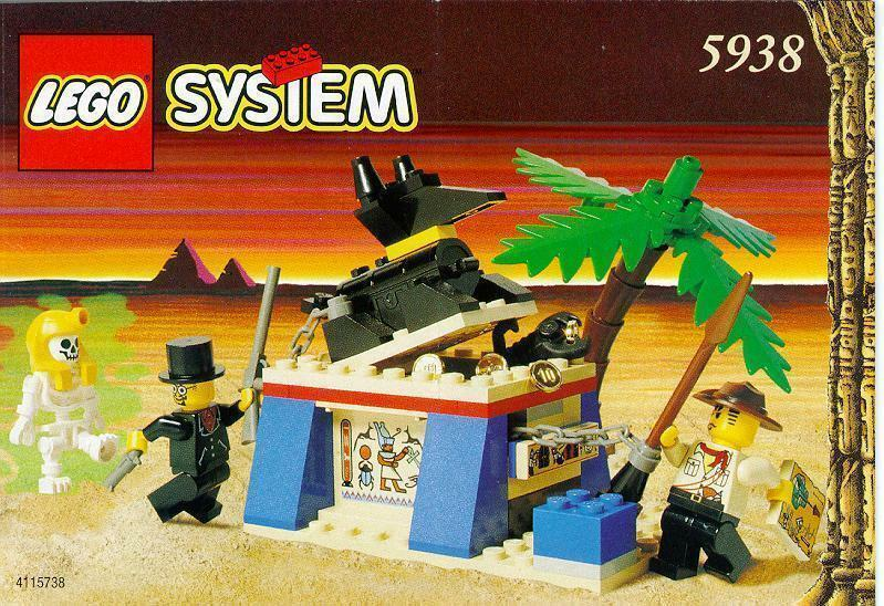 Lego System System System 5938 Oasis Ambush New Sealed b1169d