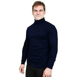 Turtleneck-Shirts-For-Men-Long-Sleeves-Tailored-Comfort-Fit-by-Utopia-Wear-Lot