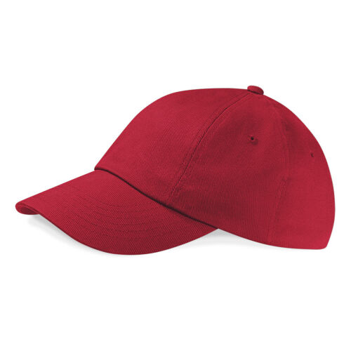 BLACK BLUE RED GREY WHITE GREEN Heavy Cotton Drill Low Profile Baseball Cap Hat