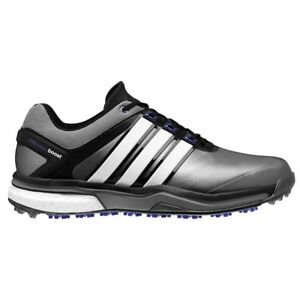 db3544f4141b NEW MEN S ADIDAS ADIPOWER BOOST GREY FLASH GOLF SHOES Q46922 Q44633 ...