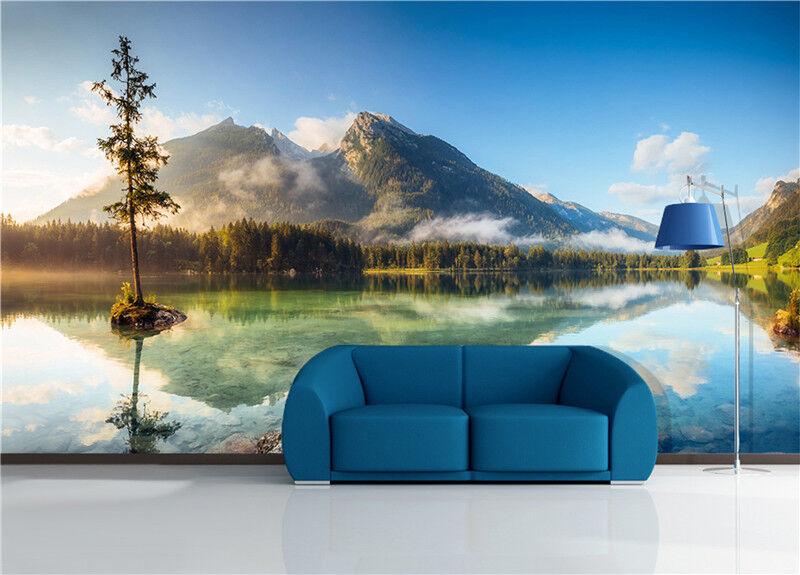 3D Natürliche Landschaften 866 Tapete Wandgemälde Tapeten Bild Familie DE Lemon
