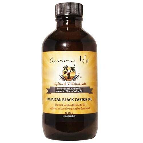 Sunny Isle Jamaican Black Castor Oil Thicker Longer Eyelash Hair Growth Oil 4oz