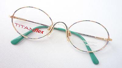 Bambini Eschenbach Titanflex Occhiali Ovale Circa Estremamente Stabile Pastello Oro 46 (18)-mostra Il Titolo Originale Una Gamma Completa Di Specifiche