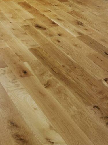 Solid Natural Oak Brushed and Oiled 150mm X 18mm Wood Flooring