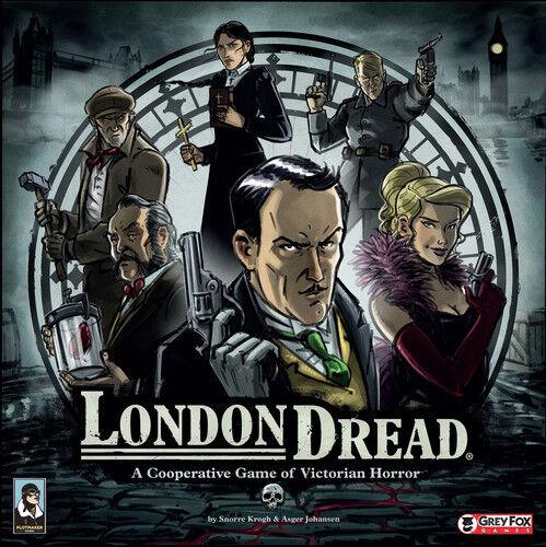 London - angst - strategie brettspiel