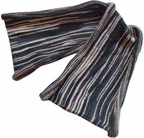 FAIR TRADE COTTON KNIT DOUBLE WRAP SEAMLESS HIPPY BOHO STRETCH HAIR BANDS TIES