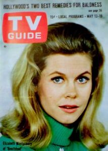 TV-Guide-1967-Bewitched-Elizabeth-Montgomery-Phyllis-Diller-EX-NM-COA-Rare