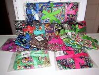 Vera Bradley Choice Set Of 3 Limited Edition Cosmetic Trio All Retired