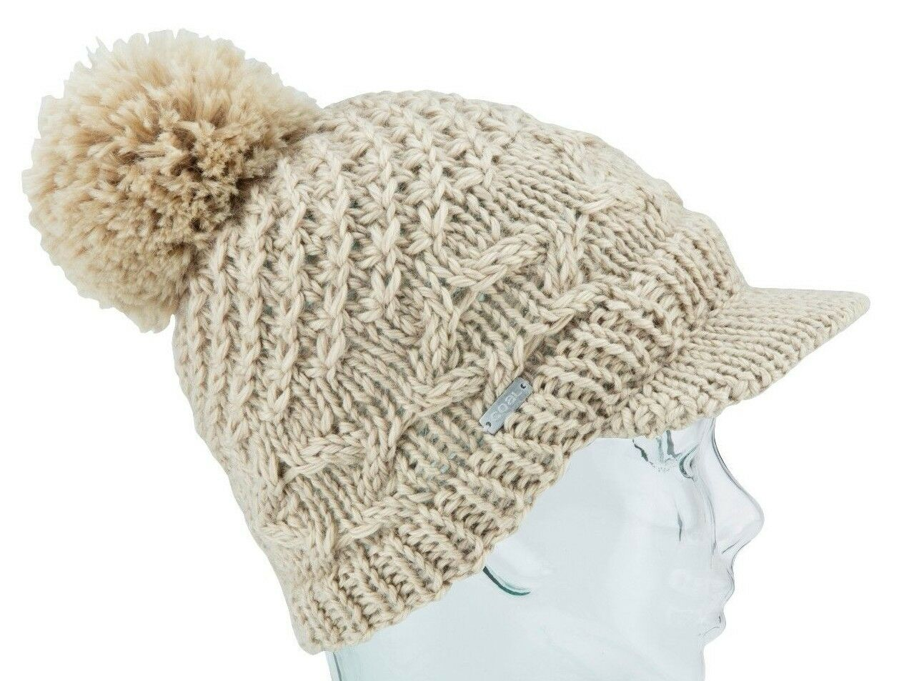 Coal Ras Headwear le Jane Ras Coal Bord Femmes Acrylique Mélange Pompon  Bonnet Kaki 6ef1b2 8e0b32f5f64