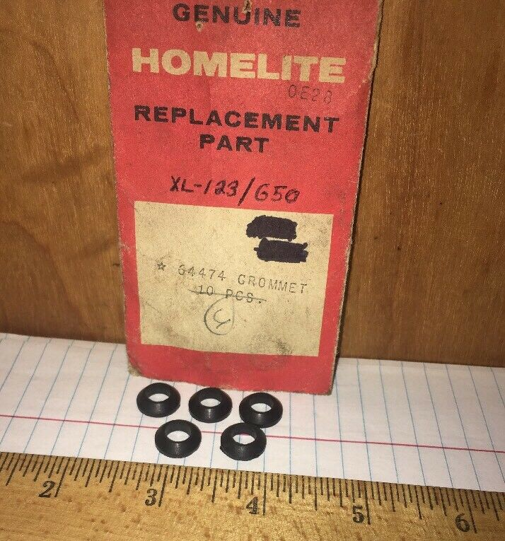 HOMELITE NEW  HANDLE GROMMET  P//N 64474  FITS XL-122 OR XL-123 XL-113 XL-114