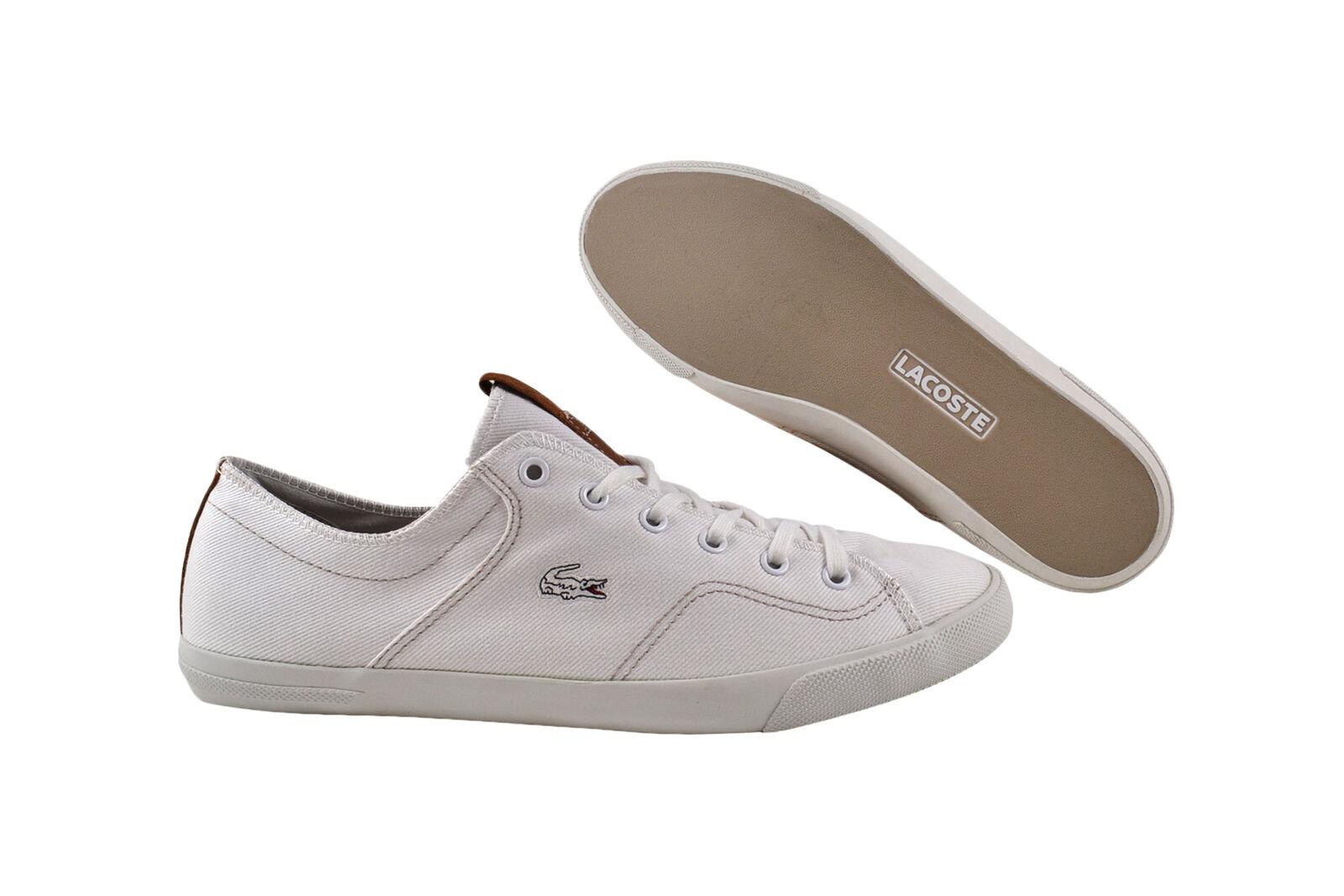 LACOSTE RAMER CRE SPM White/Light Gray Sneaker/Scarpe bianche Scarpe classiche da uomo