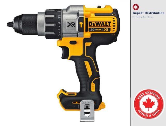 """New DeWalt DCD996 20V MAX XR Li-Ion 1//2/"""" Hammer Drill//Driver 3-Speed Bare Tool"""