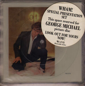 Wham-Freedom-NEW-MINT-DOUBLE-SHAPED-PICTURE-DISC-7-inch-vinyl-single-set