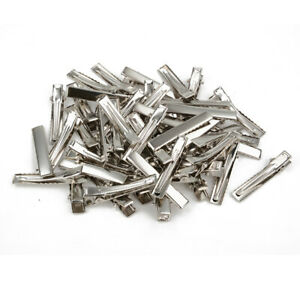 50pcs-Prong-Alligator-Aligator-Clips-Hair-Bows-Metal-Hair-Clip-DIY-Baby-Kid-40mm